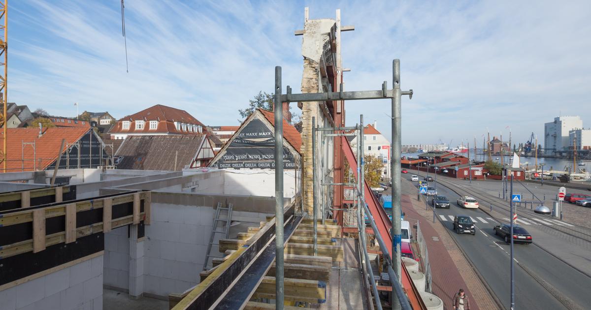 Bauleiter ole cra berichtet hotel hafen flensburg - Architektur flensburg ...