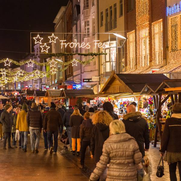 Christmas market at Holm in Flensburg