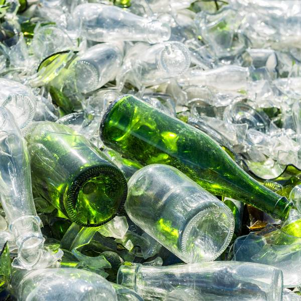 Hotel Hafen Flensburg glass recycling